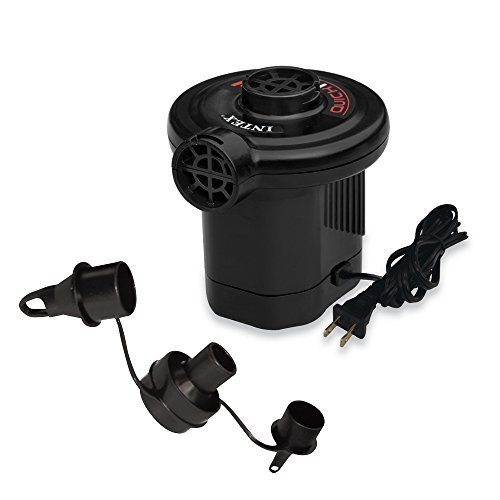 Intex Quick-Fill AC Electric Air Pump, 110-120 Volt, Max. Air Flow 21.2CFM