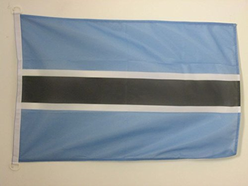 - AZ FLAG Botswana Flag 2' x 3' for Outdoor - Botswanan Flags 90 x 60 cm - Banner 2x3 ft Knitted Polyester with Rings