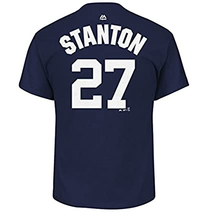reputable site 119dc 9198e VF Giancarlo Stanton New York Yankees #27 Youth Player Name ...