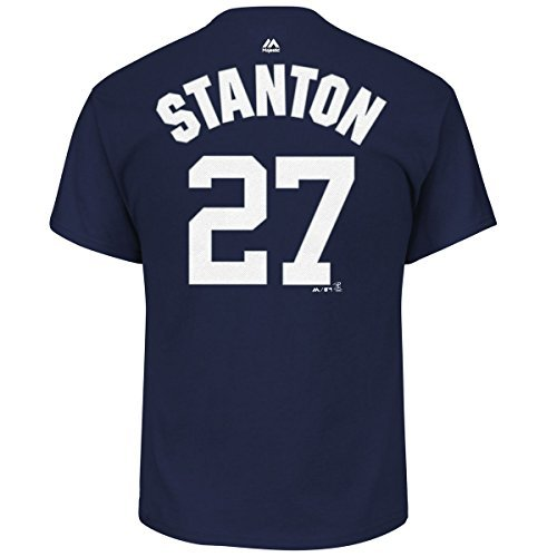 save off 6a6ed 5bf15 Giancarlo Stanton New York Yankees #27 Youth Player Name & Number T-Shirt