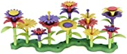 Green Toys Build-a-Bouquet Floral Arrangement Playset - BPA Free, Phthalates Free, Creative Play Toys for Gros