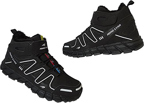 Stiefel Warmfutter Gr Nr Sportschuhe 46 41 Art 82635 Herren Sneaker schwarz Schuhe qAnZx5qf