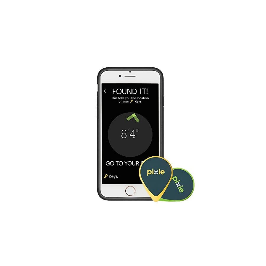 Pixie Lost Item Finder Find Your Keys, Luggage, Gadgets Visual Tracker for Precise Location of Your Lost items for iOS Only