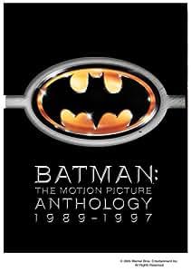 Batman: The Motion Picture Anthology 1989-1997 (Batman / Batman Returns / Batman Forever / Batman & Robin) (8 DVDs)