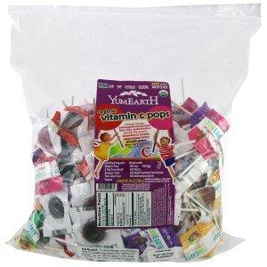 YumEarth, Organic Vitamin C Pops, 80 oz (2268 g)(Pack of 3)