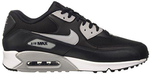 Nike Herren Air Max 90 Essential Laufschuh Schwarz / Wolf Grau-Anthrazit-Weiß