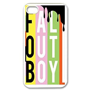 iPhone 4,4S Cell Phone Case White Fall out boy ATF028119