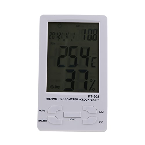 WinnerEco Indoor/ Outdoor Digital LCD Thermometer Hygrometer Temperature Humidity Met by WinnerEco (Image #9)