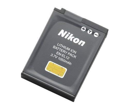 OemNikon EN-EL12 Rechargeable Battery for Nikon Coolpix AW110,AW100, S8200, S9700,S9400, S9500 Digital Camera. (Best Digital Camera With Rechargeable Battery)