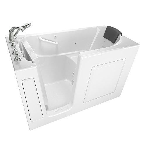 "American Standard 30""x60"" Left Hand Premium Series Walk in Whirlpool in White"