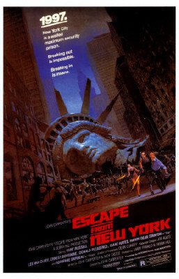 Escape From New York - Movie Poster (Size: 27'' x 40'')