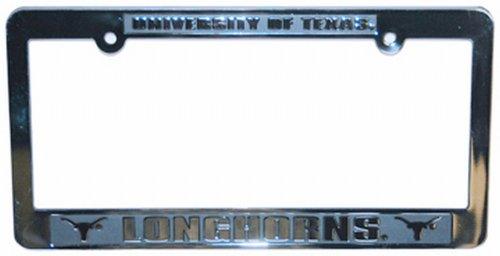NCAA Texas Longhorns Car Tag Frame ()