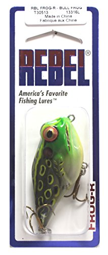 Rebel T30-513 Frog-R, 2-3/8-Inch, 5/16-OunceBull, Frog Review