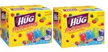 (Little Hug Fruit Drink Barrels Original Variety Pack, 8 Fl. Oz, 40 Count (Pack of 2))