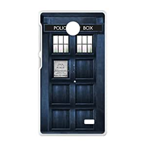 Doctor Who blue police box Cell Phone Case for Nokia Lumia X