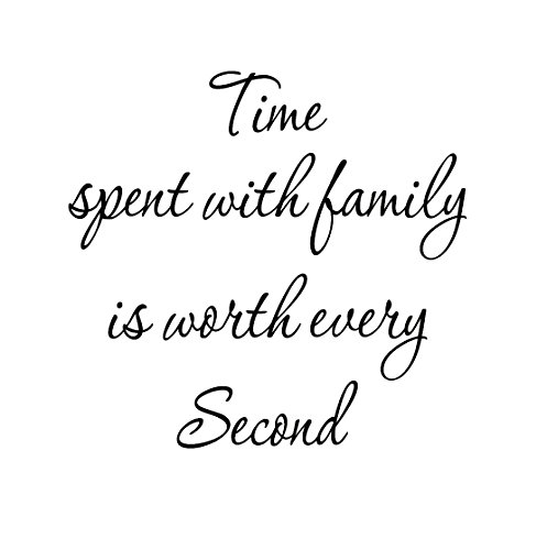 Family Second Letters Decals Stickers