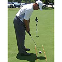 Golf Alignment Practice Sticks Yellow 2 poles per pack - The cheapest most effective practice aid you will ever buy!