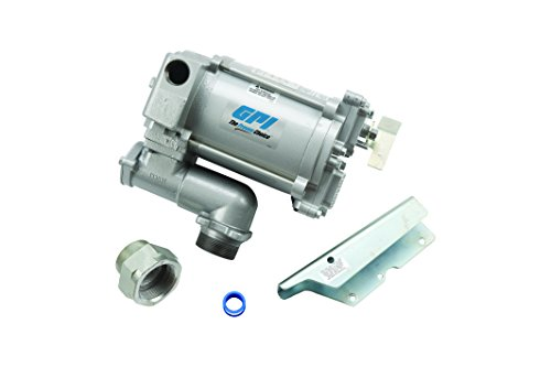 GPI 133200-03, M-3120-PO High Flow Cast Iron Fuel Transfer Pump 20 GPM, 115-VAC, 1-Inch Outlet, 1-Inch X 0.75-Inch Reducer Bushing, Pump Only by GPI® The Proven Choice®