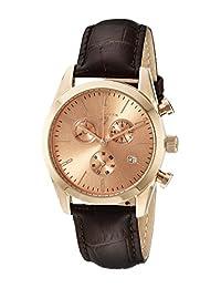 Swiss Legend Men's 22038C-RG-09-BRWS Peninsula Analog Display Swiss Quartz Brown Watch