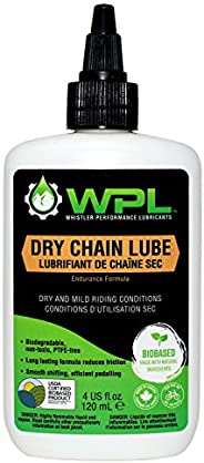 WPL Dry Chain Lube 120ml - Premium Bike Chain Lube for Mountain Bikes and Road Bikes - for Pedal Efficiency an