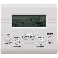 LeeKerTel LK-P024W Caller ID Display Corded Phone Call Blocker Blacklist/Whitelist Smart Automatic Blocking(White)