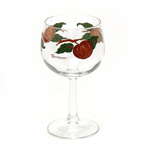 Apple by Franciscan, Water Glass Franciscan Glassware