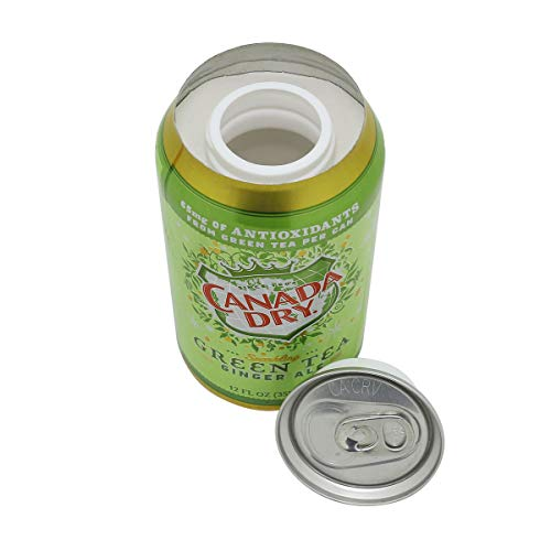 LYTIO Diversion Soda Can Lookalike Safe Stash: Hide Your Valuables in Plain Sight (Canada Dry GT) (Best Sights In Canada)