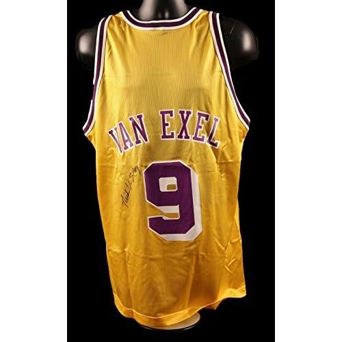 lovely Nick Van Exel Signed Los Angeles Lakers Jersey - COA - JSA Certified  - Autographed NBA Jerseys 6294c6646