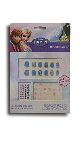 Disney Frozen Decorative Nail Art - New for 2015 (Party City Olaf)