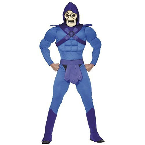 He-MAN-Licensed-Costume-Halloween-Carnival-Skeletor-L-52-54-by-RHSmith-Sons