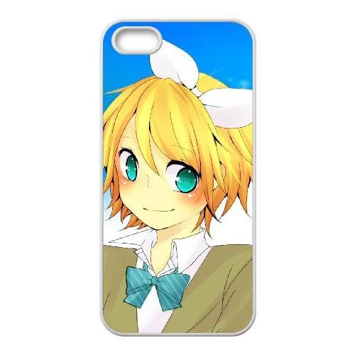 F2A19 Sky Blue Eyes B0Y6IX coque iPhone 4 4s cellule de cas de téléphone couvercle coque blanche DA1IDL8NR