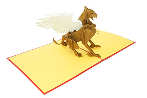 Best Unique Paper Magic Paper Magic Mens Costumes - PopLife Magical Griffin 3D Pop Up