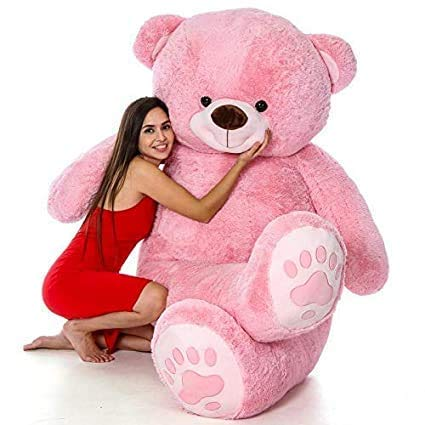 Star Enterprises Bear Toy  5 Feet, Pink