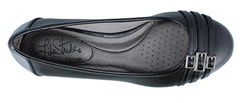 Lifestride Vrouwen Farrow Wedge Pump Black Patent