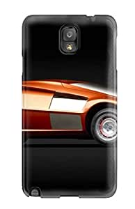 New Style Candice Mclaughlin Rediscovering The Future With Old-time Concept Cars Premium Tpu Cover Case For Galaxy Note 3