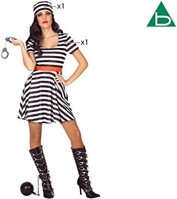 Atosa-39359 Disfraz Presa, Color Negro, M-l (39359): Amazon.es ...