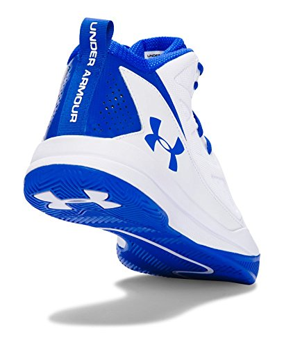 Under Armour Mens Jet Mid White / Ultra Blu / Ultra Blu