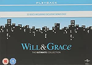 Will & Grace: The Complete Will & Grace (33 Dvd) [Edizione: Regno Unito] [Reino Unido]