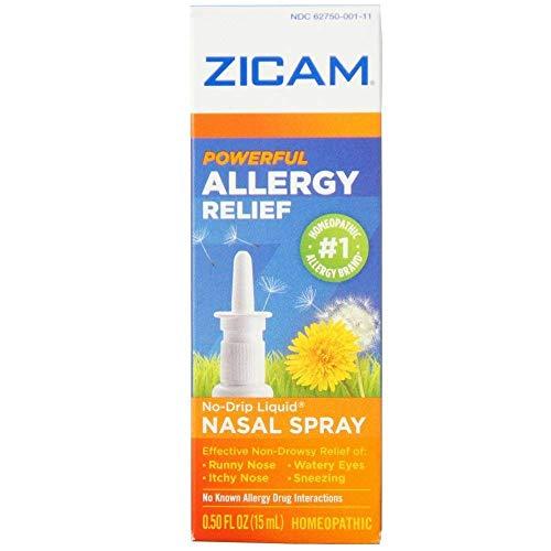 - Zicam Allergy Relief Nasal Spray 0.50 oz (Pack of 2)