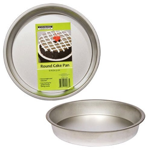 Party & Catering Supplies - Cooking Concepts Round Cake Pans, 8 inch Diameter - 2 ct pack