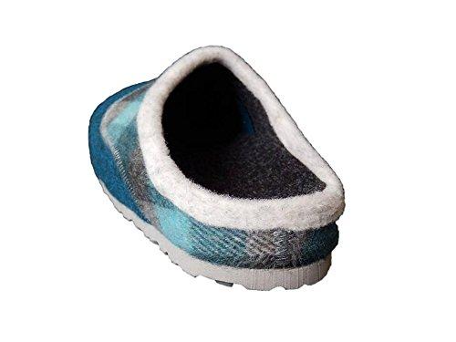 Pantofole Di Nome Onice Pantofole Feltro A Scacchi A Benzina