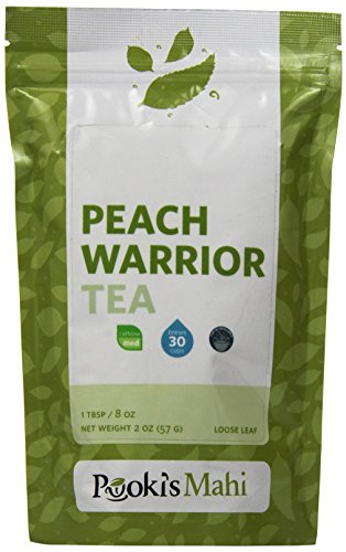 Pooki's Mahi Peach Warrior Tea, 2 Ounce