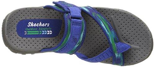 Reggae Swag Skechers zig green Infradito Blue Donna 8gxBf