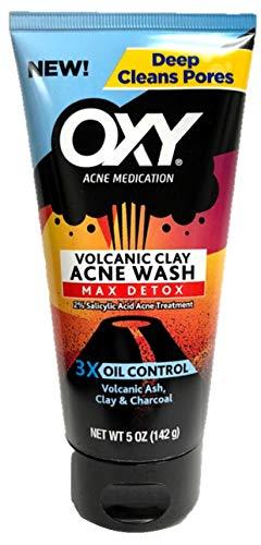 OXY Volcanic Clay Max Detox Acne Wash, 5 oz