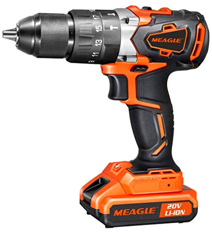 Meagle 20V MAX Brushless Cordless Drill Driver