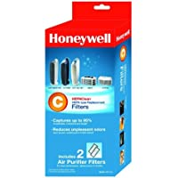 3 X Honeywell HEPAClean Air Purifier Replacement Filter 2 Pack, HRF-C2/Filter (C)