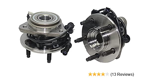 amazon com brand new (both) front wheel hub and bearing assembly 97amazon com brand new (both) front wheel hub and bearing assembly 97 01 ford explorer, mercury mountaineer; 01 05 explorer sport trac 4x4 5 lug w abs