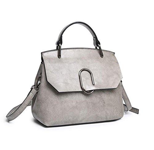 In 2 A Sucastle università Messenger Tipo Pelle Tracolla Vintage 3 viaggio Bag Borsa Spalla D'affari Donna nw44TfqY