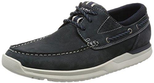 Rockport Langdon 3 Eye Herren Schuhe Blau