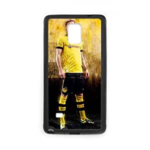 Samsung Galaxy Note 4 Cell Phone Case Black Marco Reus E4Z0L